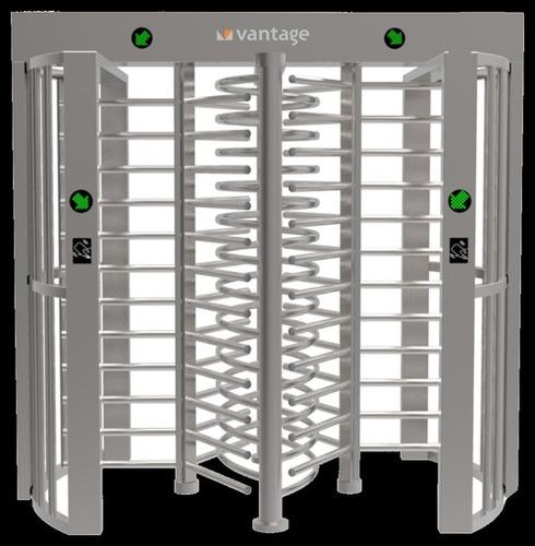 Full Height Dual Lane Turnstile Gates