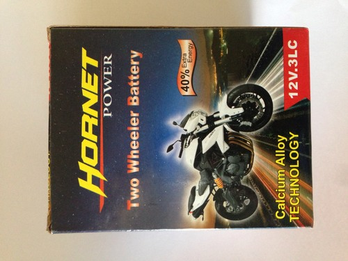 12 Volt 3LC Battery For Two Wheeler