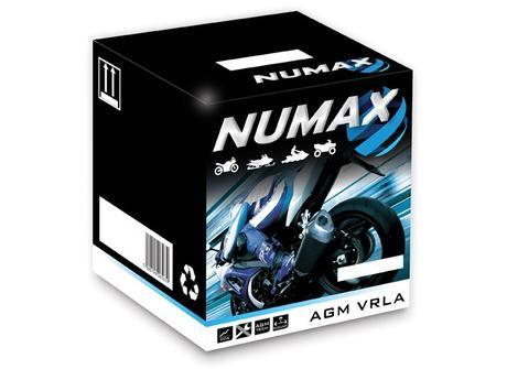 NUMAX YT9B4 Motorcycle Battery
