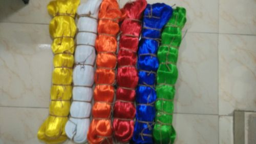 Multicolor HDPE Monofilament Yarns in   Chitra