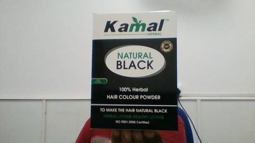 Kamal Herbal Natural Black Hair Colour Powder