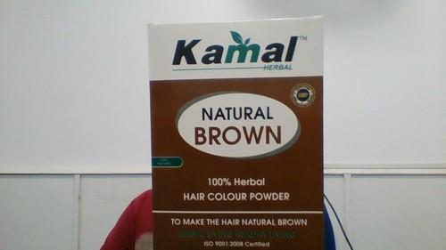 Kamal Natural Brown Hair Colour Powder