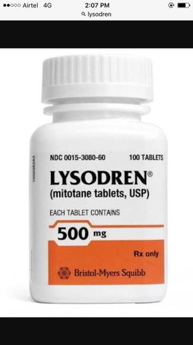 Lysodren (Mitotane) 500mg Tablets in  Bhagirath Palace
