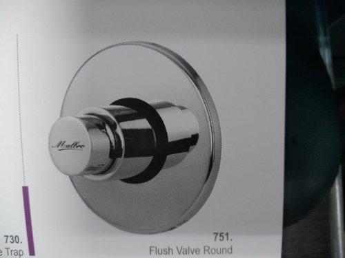 Round Flush Valve