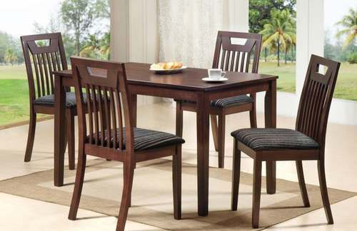 Scoot 4 Seater Dining Table And Chair Set