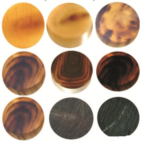 Buffalo Horn Blanks Buttons