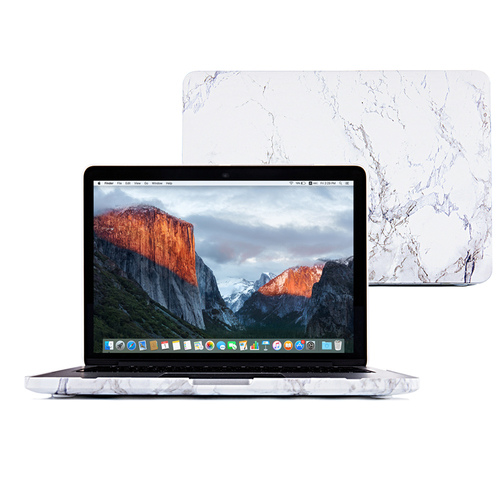 Laptop Front Marble Style Cover