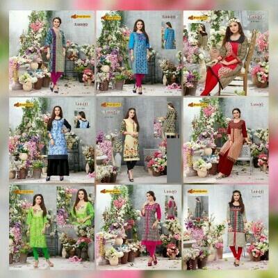 Ladies Long Cotton Kurtis in  Madangir