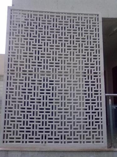 GRC Column in  New Area