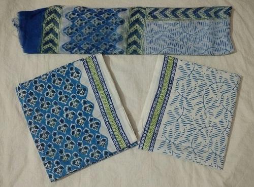 Printed Cotton Salwar Suit in  Sanganer