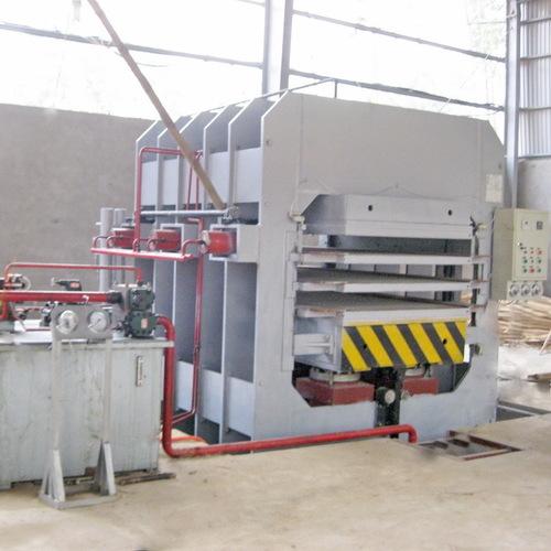 Bamboo Board Press Machine