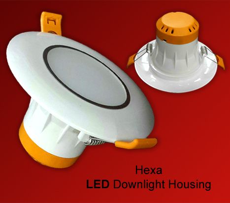 Hexa Round LED Downlight Housing in  Jhilmil Indl. Area (Shahdara)
