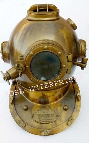High Quality Antique Finish Mark V Diving Helmets in   Bharat Nagar