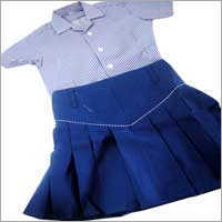 Baby Girl School Skirt in  Ismailganj