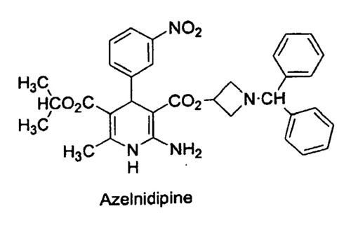 Azelnidipine Jp/Ip/Ih in   GIDC