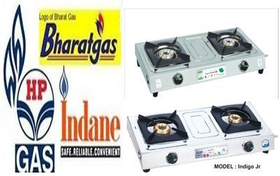Two Burner Gas Stove in  Narela Indl. Area
