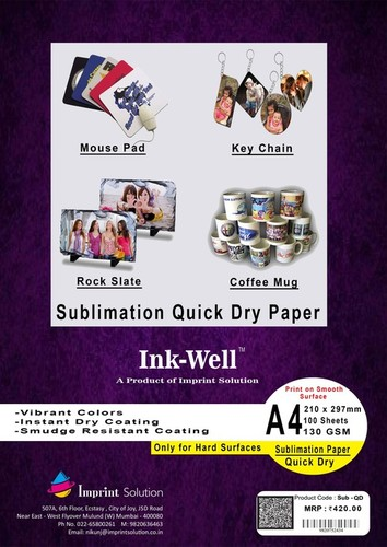 Textile Quick Dry Sublimation Paper in  Mulund (W)