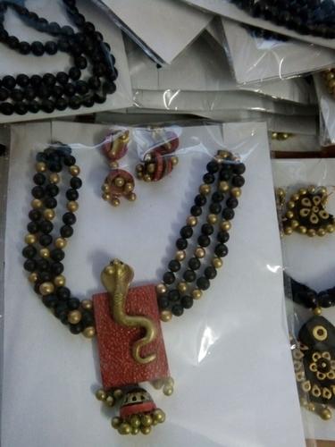Terracotta Jewelry. in  Uluberia