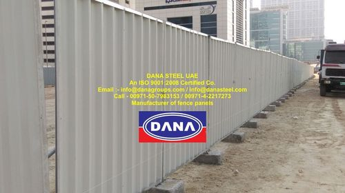 Metal Hoarding Panel in   Opp Deira City Center