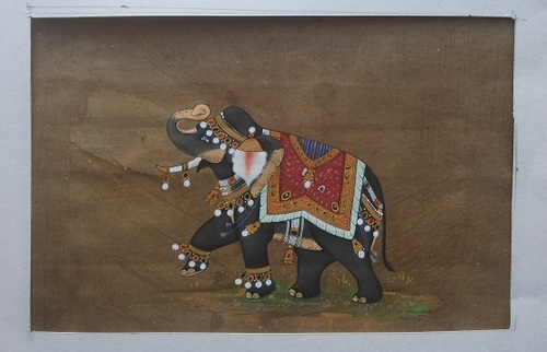 Indian Miniature Painting in  Chandpole