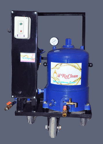 Portable Mechanical Oil Filtration System in  Waliv-Vasai (E)