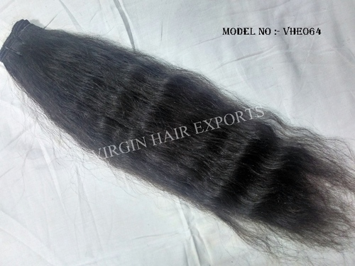 Indian Virgin Machine Weft Wavy Hair in  Jamalpur