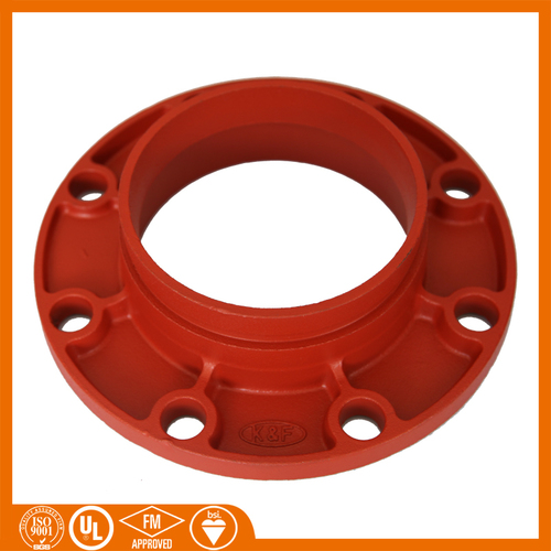 Grooved Pipe Fitting Ductile Iron Grooved Flanges in   Xinhe Road Private Economic Zone