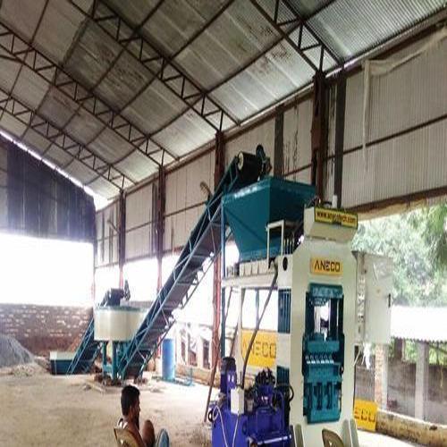 Automatic Hydraulic Brick Machine