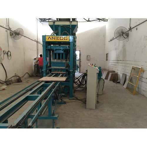 Automatic Interlocking Paver Block Machine