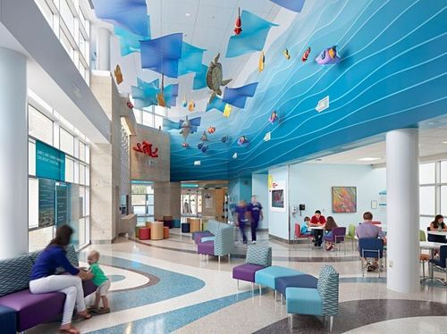 Hospital Interior Design Services in  S.G.Road