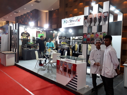 IRF World Road Meeting 2017 Exhibition Stall in  Ganesh Chandra Avenue