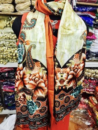 Raw Silk Printed Dupattas
