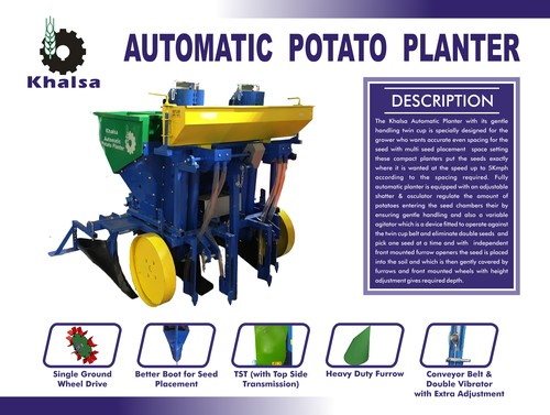 Automatic Potato Planter in  Baghpat Road
