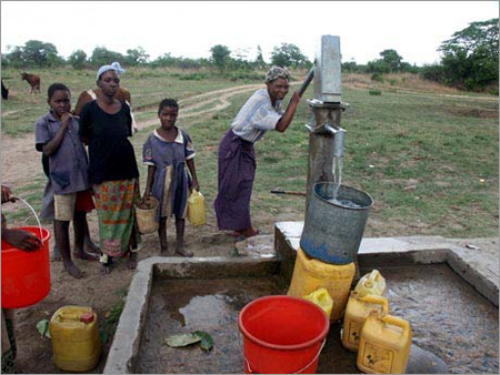Afridev Hand Pumps in  50-Sector