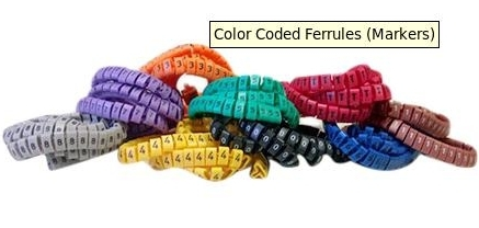 Color Coded Ferrules (Markers) in   Near Mahalaxmi Pneumatic Flour Mill