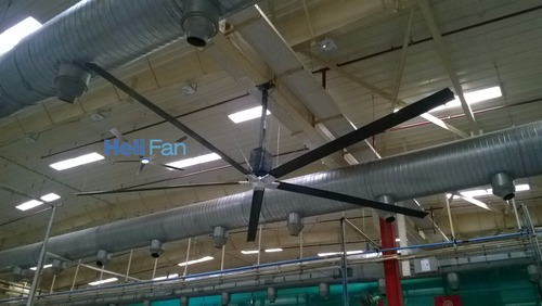 Large Fan For Industry And Commercial Spaces in  Makarpura (Vdr)