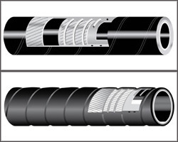 TUCHEM EPDM Suction And Delivery Hose in  J-Block