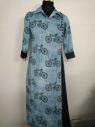 Cycle Print Gentle Women Kurtis in  New Area