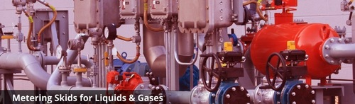Liquid And Gases Metering Skids