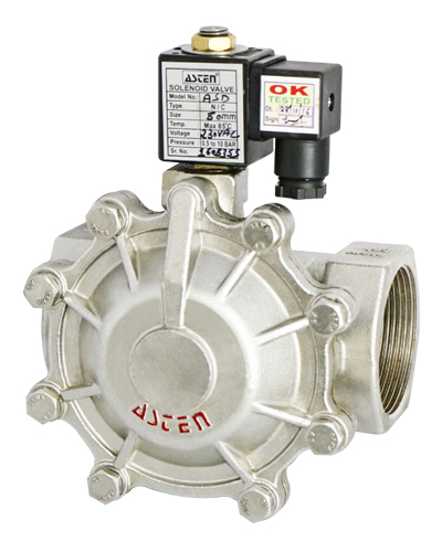 2/2 Way Pilot Operated Diaphragm Type Solenoid Valve in  New Area