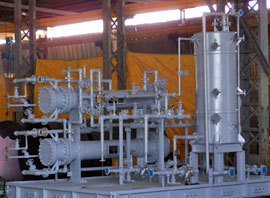 Cooling Water Console Gas Compressor