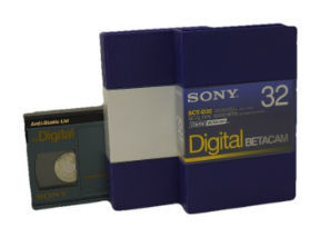 32 Minute Hdcam Certified Evaluated Professional Video Tape