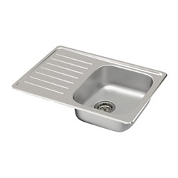 Single Bowl Kitchen Sink With Drain Board in  Prahladpur