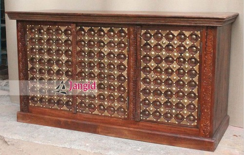 Wooden Carved Catering Display Counter
