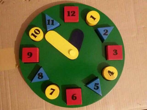 Wooden Toy Clock in  Tri Nagar