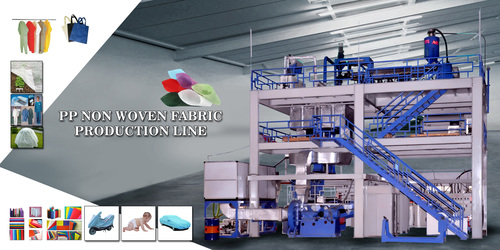 Pp Non Woven Fabric Making Machine in   Bhavnagar - Rajkot Highway