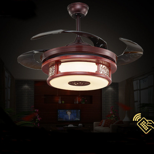 Three Colors LED Ceiling Lamp With Invisible Fan in   Huicheng District