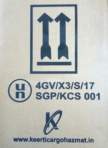 4GV/X3 UN Approved Fiberboard Box in  Sahar Road-Andheri (E)