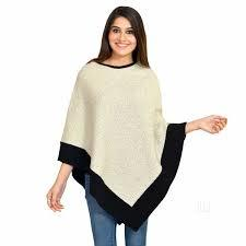 Sleeveless Boat Neck Poncho Top in  Jalandhar Bye Pass