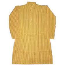 Men'S Half Sleeves Long Kurta in   Near Har Ki Paudi